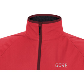 GORE WEAR C5 Gore-Tex Infinium Partial Insulated Jacket Women hibiscus pink/chestnut red